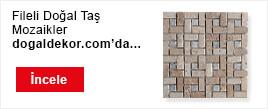 Fileli Doğal Taş Mozaikler Afiş