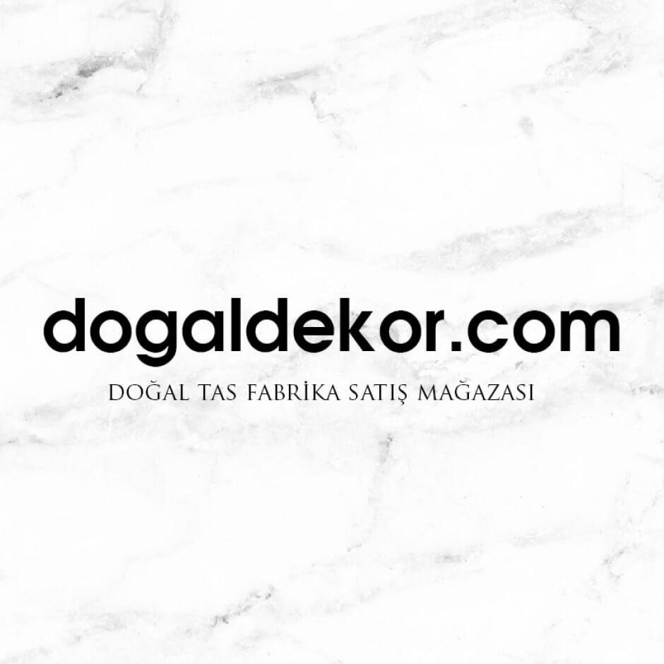 5x10 Gerçek Doğal Taş Traverten Tarama Çizikli -DT1337