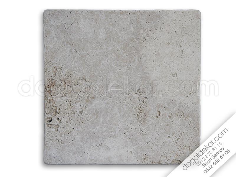 1.2 x 20.3 x 20.3cm Eskitme Traverten -DT1048