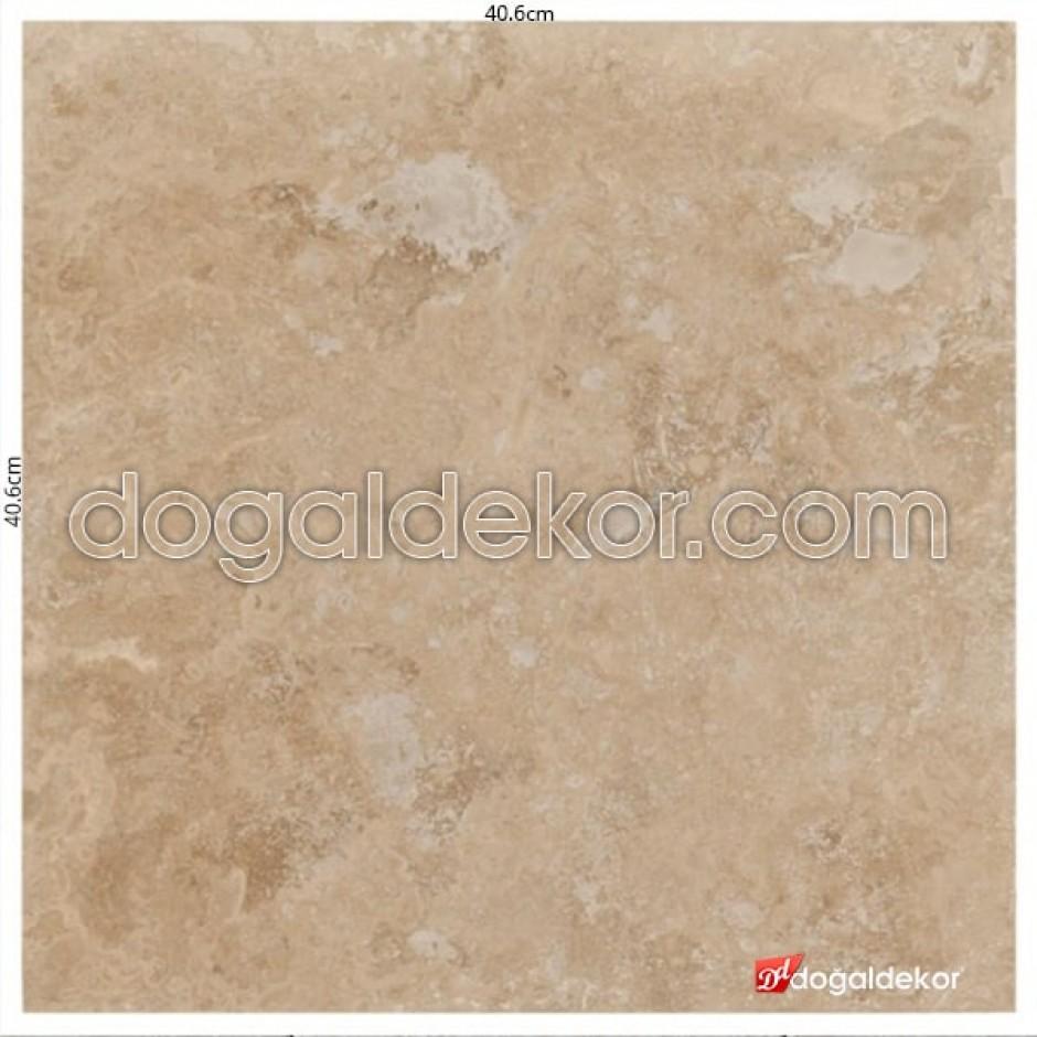 Cilalı 1.2 x 40.6 x 40.6cm Traverten Fayanslar  -DT1068