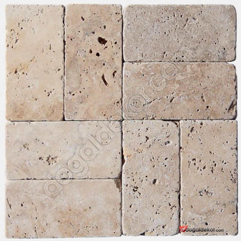 7.5x15 Denizli Traverten Eskitme Fayans -DT1335