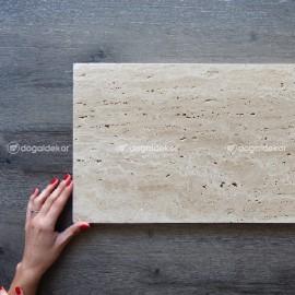 Traverten Taş Yer Döşemesi Cilalı 2x30xBoy -DT1375