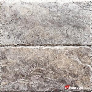 1.2x20x40cm Kenar Zincir Kırma Silver Gümüş Traveren -DT1554
