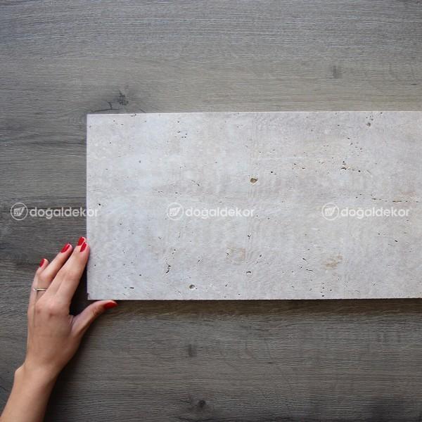 Traverten Taş Döşeme Denizli Ham 2x25xBoy - DT1678