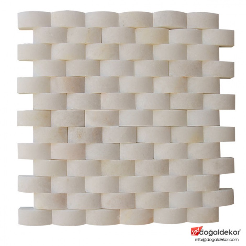 Doğaltaş Hasır Mozaik - DT1199