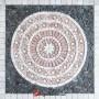 1 x 92 x 92cm Mermer Mozaik Yer Göbekleri - DT1535