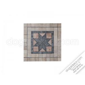 55 x 55 Mozaik Göbek Dekor -DT1043