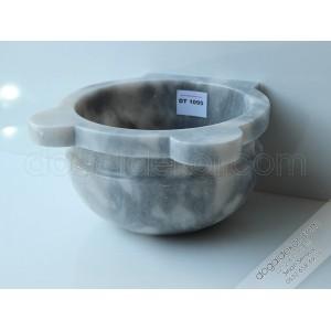 Gri Renk Mermer Hamam Kurnası Modelleri -DT1095