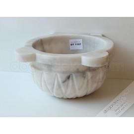Afyon Beyaz Mermer Hamam Kurnası Fiyatları-DT1107