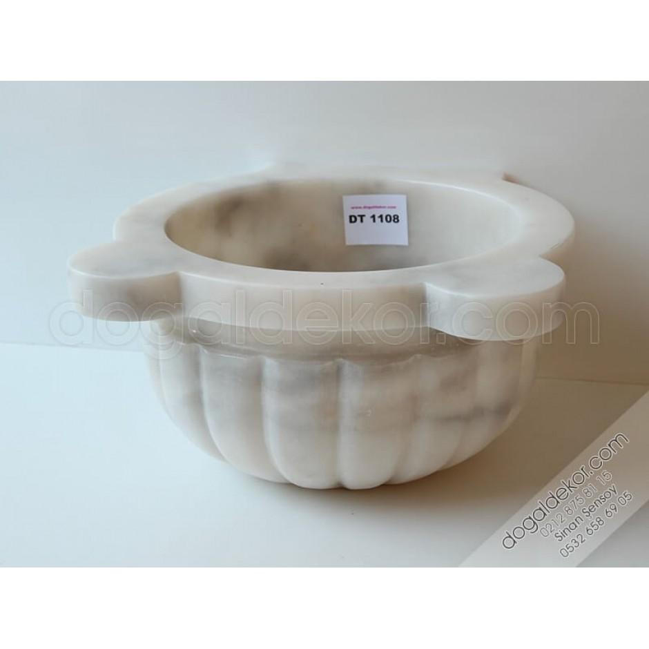 Kavun Dilimi İşlemeli Hamam Kurnası -DT1108