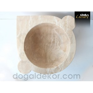 Traverten Hamam Kurnası- DT1237