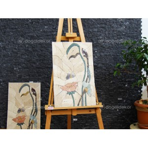 Duvar Dekorasyonu Taş Tablo - Güzel Kadın DT1593