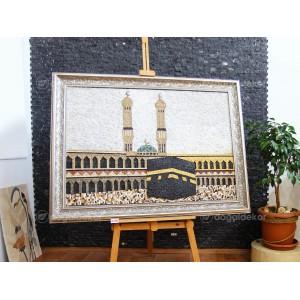 Dekoratif Taş Mozaik Tablo - Kabe Tablosu DT1603