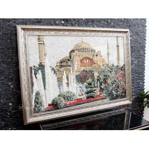 Taş Mozaik Tablo - Ayasofya Camii DT1599