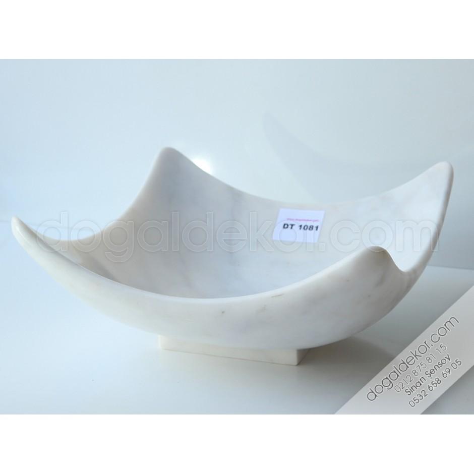 Beyaz Mermer Lavabo - DT1081