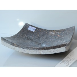Tezgah Üzeri Mermer Lavabo Modeli Kayık -DT1089