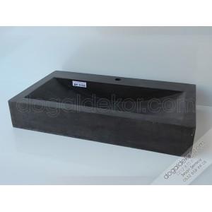 Siyah Mermer Lavabo Modelleri -DT1133