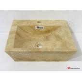 Doğal Taş Tezgah Üstü Banyo Lavaboları-DT1275