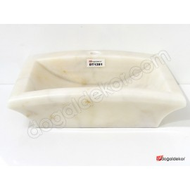 Doğal Taş Tezgah Üstü Banyo Lavaboları-DT1281