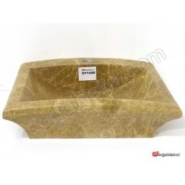Doğal Taş Tezgah Üstü Banyo Lavaboları-DT1299