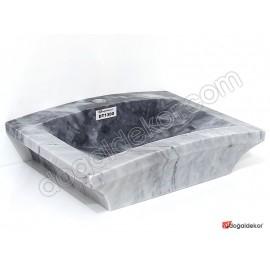 Doğal Taş Tezgah Üstü Banyo Lavaboları-DT1300