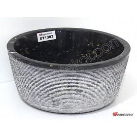 Doğal Taş Tezgah Üstü Banyo Lavaboları-DT1303