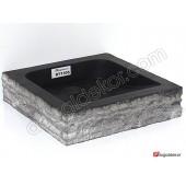 Doğal Taş Tezgah Üstü Banyo Lavaboları-DT1305
