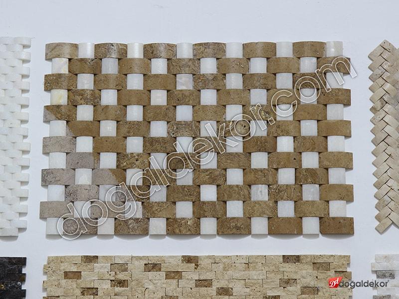 5x10 Hasır Model Dogal Tas Duvar Kaplamaları-DT1166