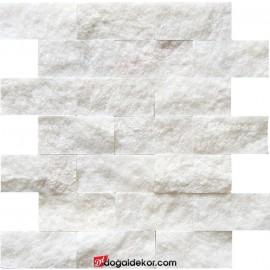 Patlatma Taş Mermer Beyaz 5x10 -DT1174