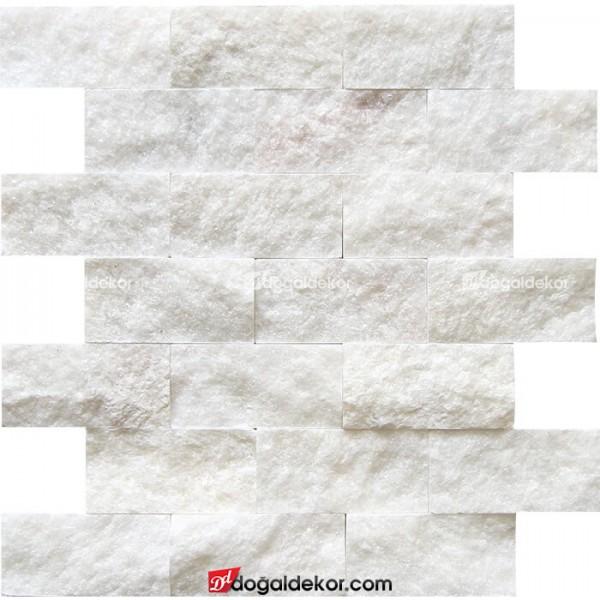 5x10 Beyaz Patlatma Mermer-DT1174