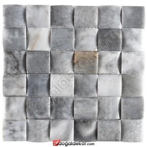 Doğal Taş Hasır Mozaik 5x5 - DT1200