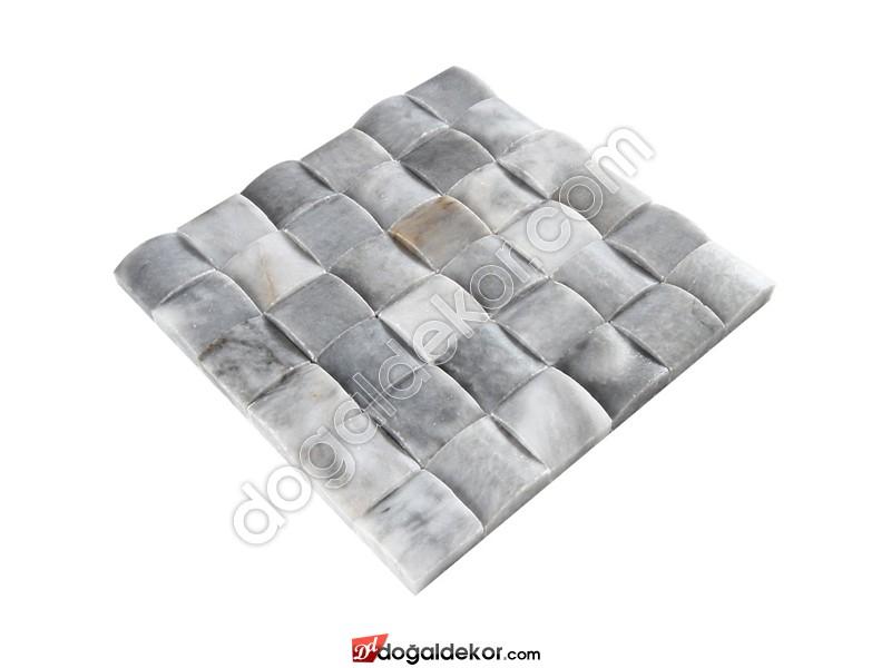 5x5 Doğaltaş Hasır Mozaik - DT1200