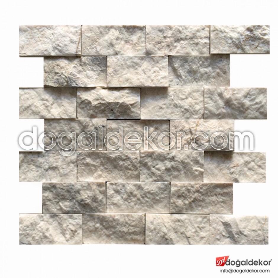 5x10 Doğal Taş Patlatma Duvar Taşları-DT1205