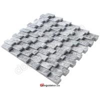 Füme Doğaltaş Patlatma Duvar Kaplam-DT1208