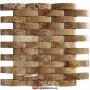 2.3x10cm Noce Bullnose Hasır Doğaltaş-DT1257