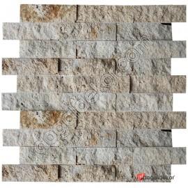 5x15 Doğal Taş Patlatma Traverten Filesiz-DT1270