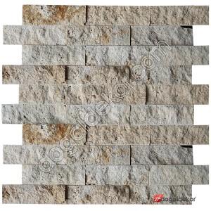 Patlatma Taş Doğal  Traverten Filesiz 5x15-DT1270