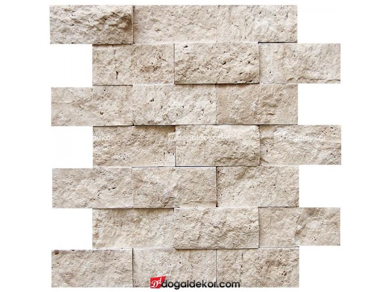 5x10 Doğal Taş Patlatma Duvar Kaplama-DT1329