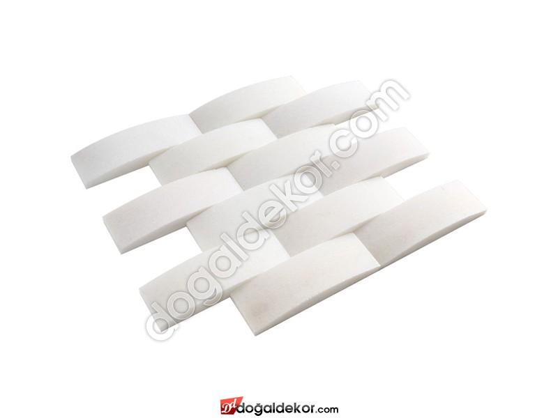 Hasir Model Balık Sırtı Doğal Taş Duvar Kaplama - DT1358