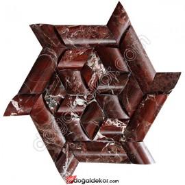 Yıldız Hasir Model Balık Sırtı Doğal Taş Duvar Kaplama - DT1361