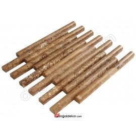 Doğal Taş Bambu Model  Duvar Kaplama Mozaik Dekorasyon-DT1371