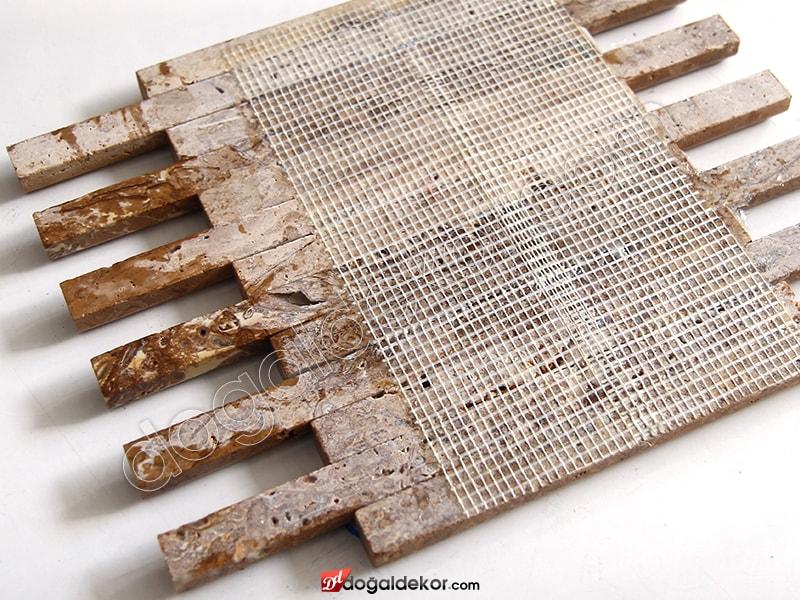 Bambu Model Doğal Taş Duvar Kaplama Dekorasyon-DT1371