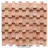 Duvar Dekor Taşları Kırmızı Traverten- DT1390