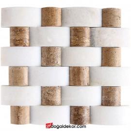 Duvar Kaplama Hasır Doğal Taş 5x10 -DT1426