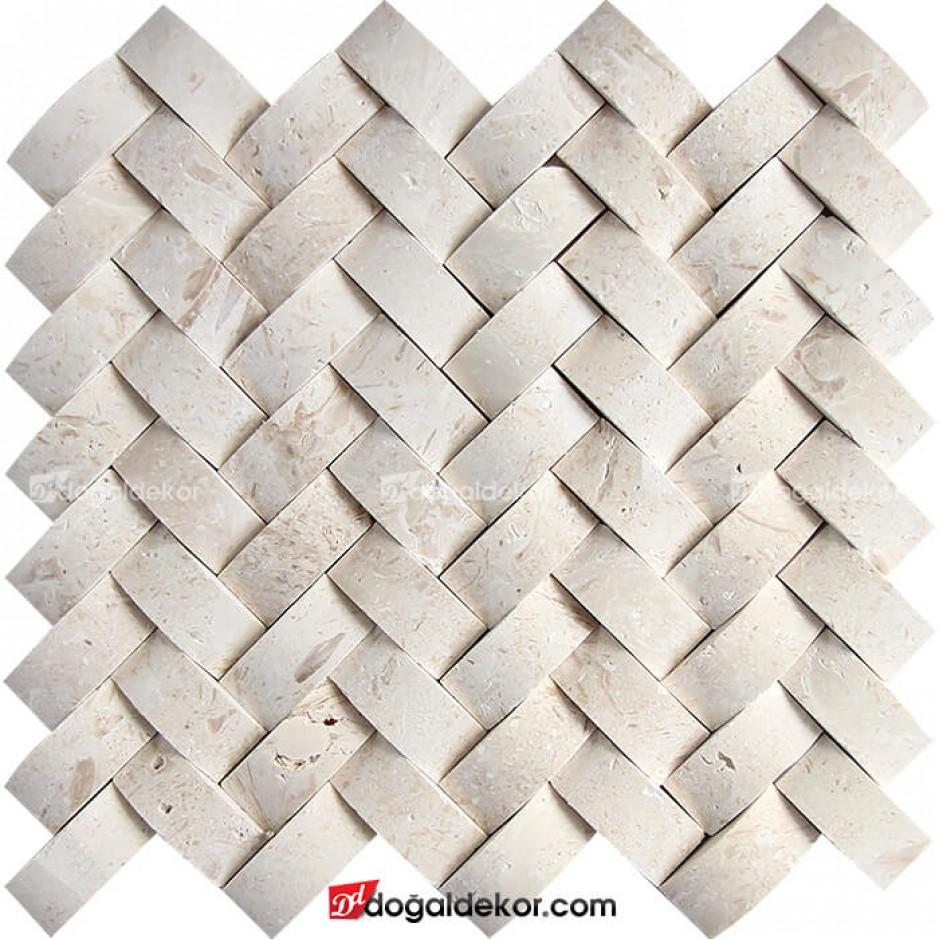 Sepet Duvar Kaplama Hasır Patlatma Doğal Taş-DT1439