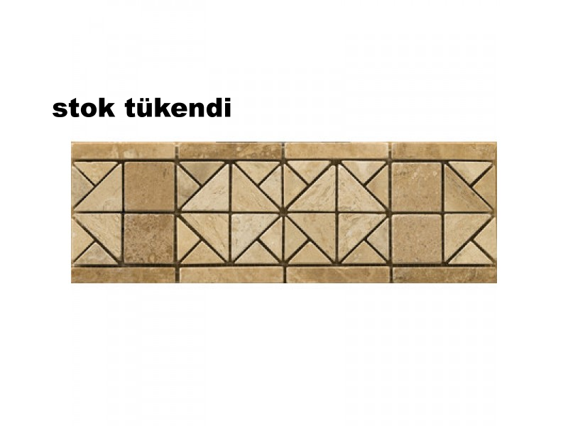 Bordur Dekoratif Mermer Traverten Mozaik-DT1326