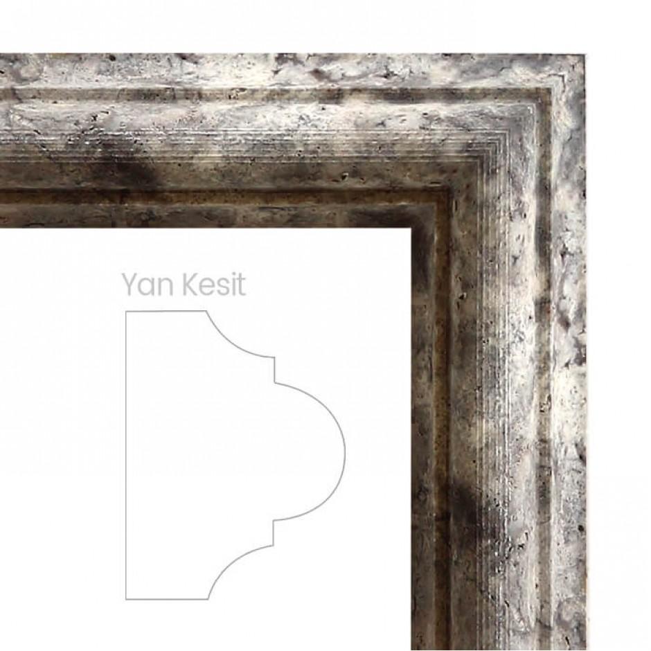 Gümüş Traverten Profil Pervaz - DT1421