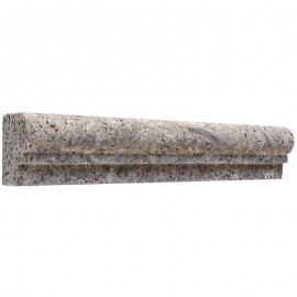 OGEE2 Gümüş Traverten Profil Pervaz Çıta- DT1660