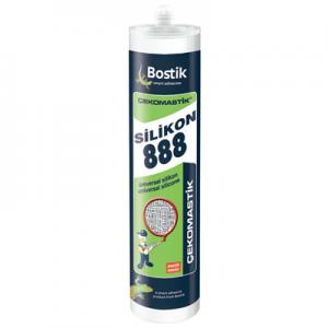 Bostik Çekomastik Şeffaf Universal Silikon 888 -DT1065