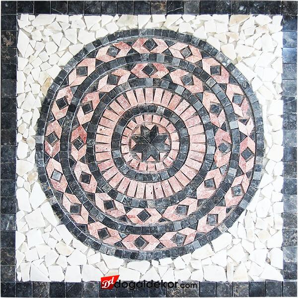 Mermer Mozaik Göbek Madalyon